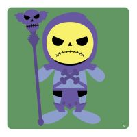 skeletor by striffle