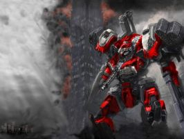 Ares Mech +armored core+ by RyuKomagora8