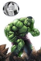 Hulk render by d7mey
