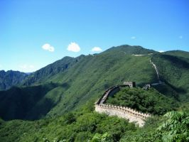 great wall of china, two by girlonvocals