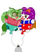 :COM: Balloonie Cali and Merle by Arrowny18