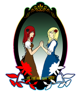 KH - Red Rose and Snow White by CherryBlossoms24