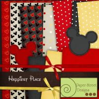 happiest place-paper street designs by paperstreetdesigns