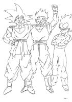 A Father, Son, and a Rival by darkhawk5