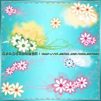 floral frame brushes8 by coolwing