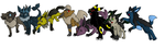 All Mighteon crossbreeds by Avi-the-Avenger
