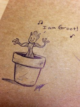 Groot by ArtisticCole