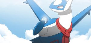 Commission: Latios and SoulDew by All0412