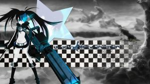 Black Rock Shooter Wallpaper 1920x1080 by B1itzsturm