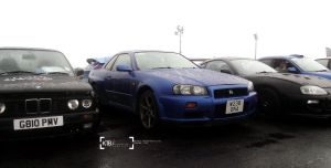 Nissan Skyline R34 - Fast Show 2013 by K4T3Photography