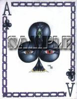 Ace of Clubs by kageryu
