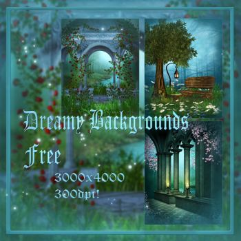 Dreamy backgrounds free by moonchild-ljilja