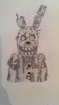 Five Nights at Freddy's Springtrap by FireDrawer1309