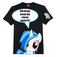 ~Vinyl Scratch Shirt~ by StarCatcherZ