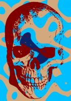 Skull Pop Art by DevintheCool