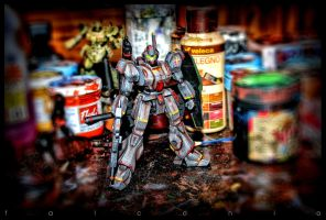 Jegan 1/144 Hdr-1 by AngeloFalconio
