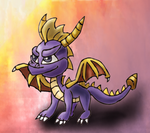Spyro the Dragon by Quacksquared