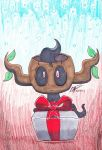 phantump christmas drawing by payero01