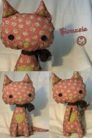Siouxsie Plush Cat by kittyloveskpop