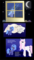 The Making of Nightmare Moon WIP by FairyBubblePuppy