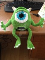 Mike Wazowski from Monster's Inc by telshira