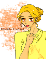 Hawk Song: Dannica by ARTofWrath