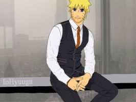 Naruto - Businessman by IoHyuuga