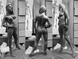 Wip woman in latex by Customfx