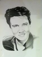 Elvis Presley by SarahEleanor