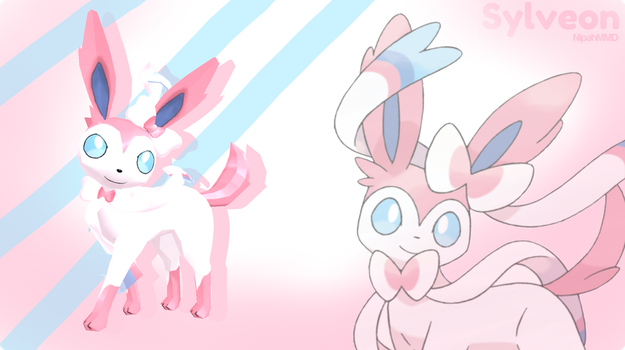 Sylveon - MMD DL by NipahMMD