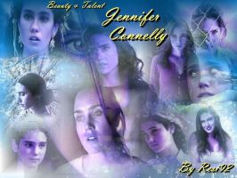 Jennifer Connelly Wallpaper by LabyrinthQueen92