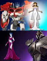 TFP Hunters and tamers cover by Saoswife