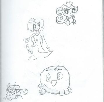 Shantae Doodles by JacktheCat779