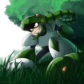 Snake in the Grass by imbisibol