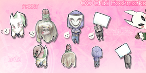OC Chibi Bookmarks! by FelixtheFailure