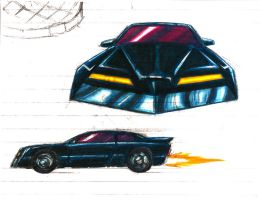 The Car Colored by Jochimus