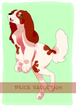 RedWhite Setter Gal AUCTION [CLOSED] by Kabachu
