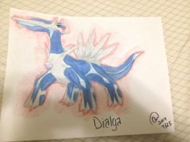 Pokemon : Dialga~ by animelover287