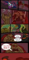 DeathBattle Ganondorf vs Dracula entry by Mokuu