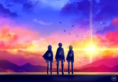 snk: to the world beyond. by sugarmints
