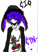 CIO (Boy version Cyn) by CynthiaUchiha