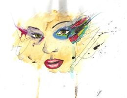 Abstract face by lektracer
