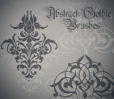 Abstract Gothic Brushes by SoDapper