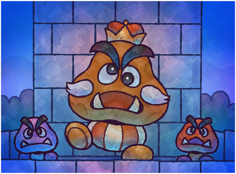 Paper Mario 64: The Goomba King by Louivi