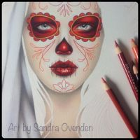 Day of the Dead close up by Sandra-O