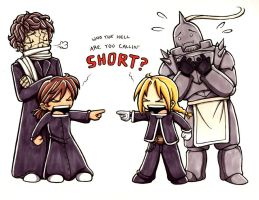 FMA-OC cross - WHUT U SAY by kishokahime