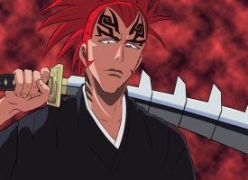 Abarai Renji: from the hell by Maetelsama
