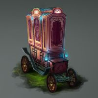 Ornate Carriage by Illustrum