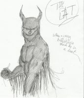 My vision of Batman by bordeauxman