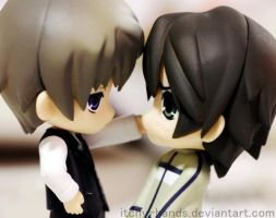 Nendoroid Puchi: Junjou Romantica by Itchy-Hands